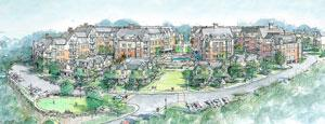 Arlington 360 rendering of Symmes project