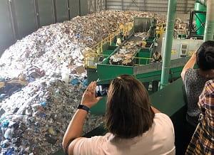 Arlington recycling at GreenWorks, Peabody. / Rebecca Braun photo