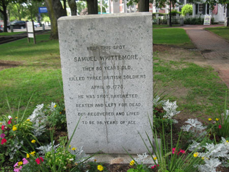 Marker for Sam Whittemore