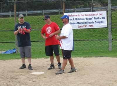 Summer Street field renamed named for James F. Robillard.