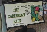 Caribbean kale