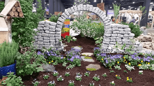 Minuteman horticulture students 39 garden sprouts award at boston show for Boston flower and garden show 2017